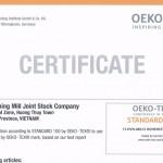Chứng nhận OEKO-TEX